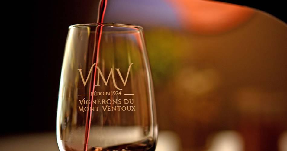 Atelier dégustation à la cave des Vignerons du Mont Ventoux@Les Vignerons du Mont Ventoux