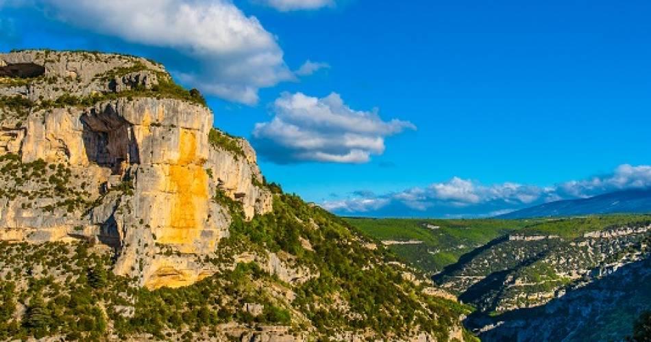 Route touristique des Gorges de la Nesque@C. Constant