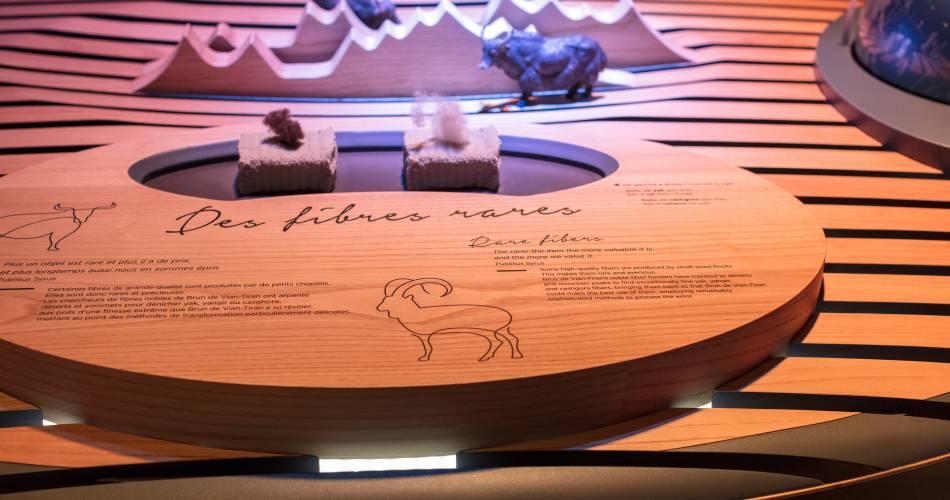 La Filaventure : musée sensoriel des fibres nobles Brun de Vian-Tiran@Coll. Musée Brun de Vian Tiran