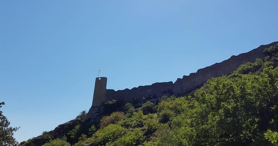 Mornas Fortress hiking path@Coll. VPA