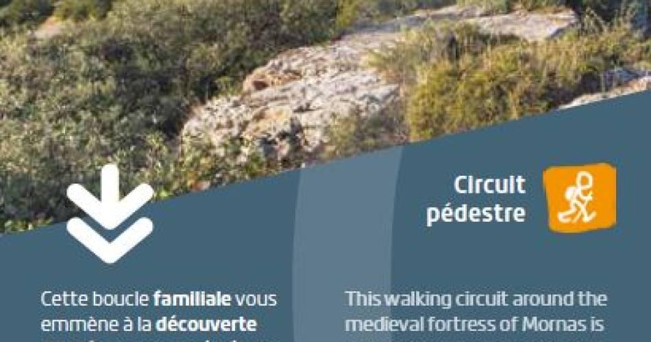 Mornas Fortress hiking path@CCRLP