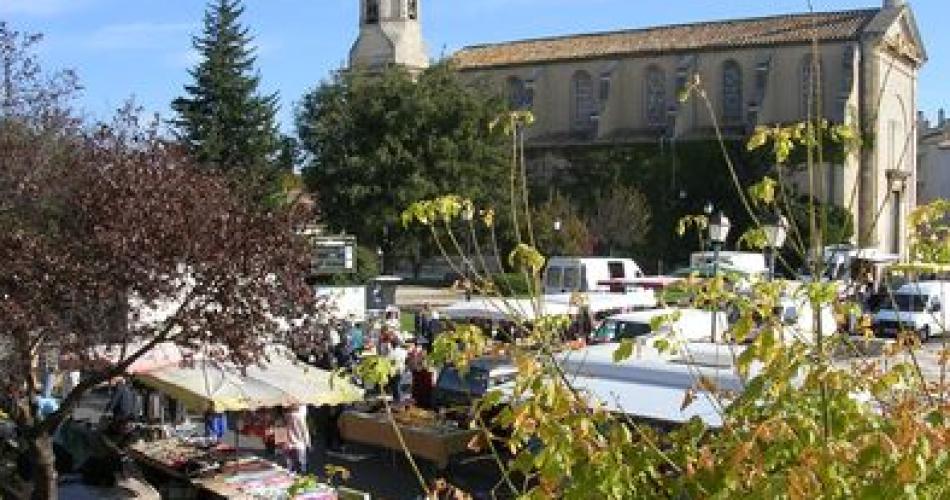 Marché de Morières-lès-Avignon@@Morières