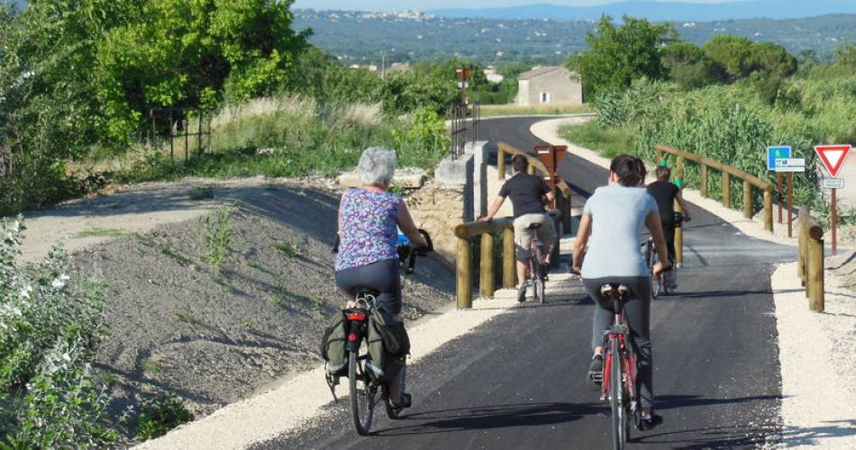 The Mediterranean by bike : Cavaillon > Apt- N°1@Vélo Loisir Provence