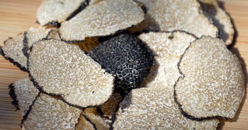 Assiette truffée d'été - Espace Terroir@OTI Ventoux Provence