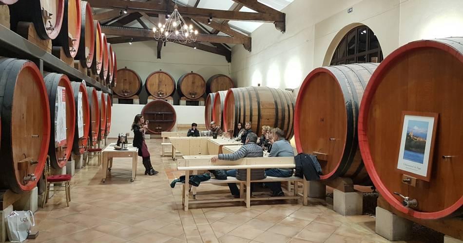 Dégustation 100% Châteauneuf du Pape@©Pavillon Bouachon