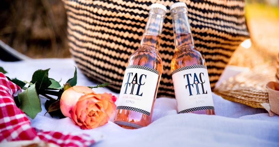 TacTil, le vin rosé pétillant@Martina Widmer