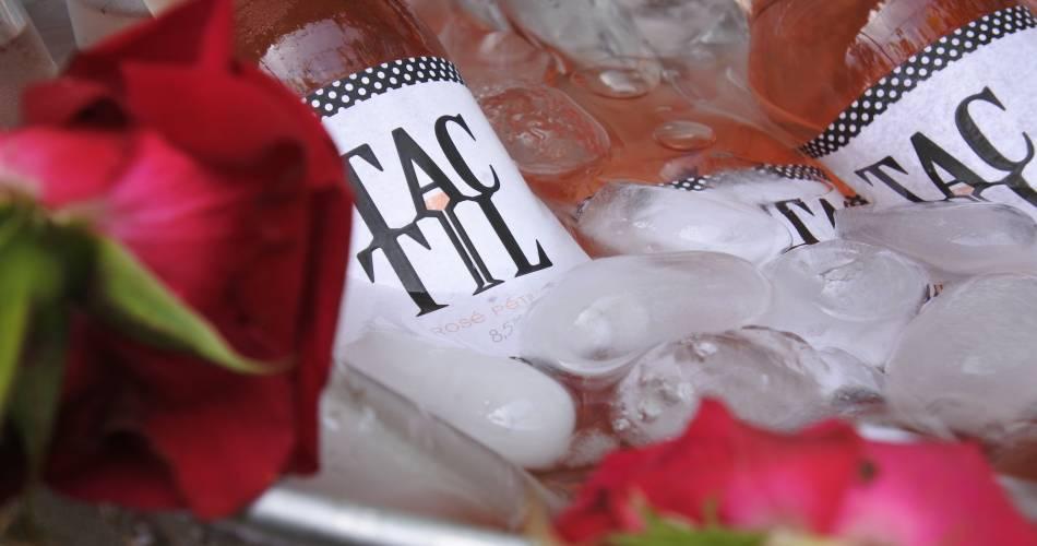 TacTil, le vin rosé pétillant@Rosé TacTil