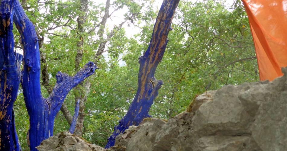Sentier Art et Nature@VBiset Vaucluse Tourisme