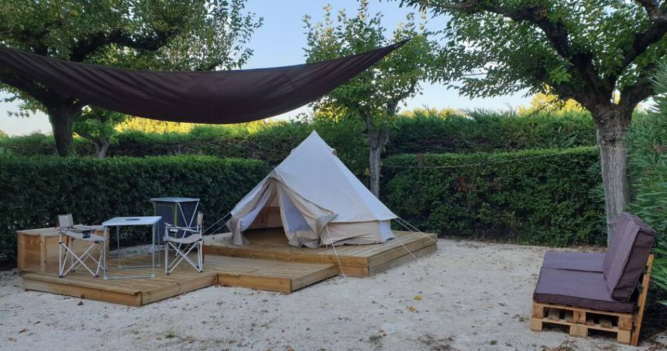 Camping Le Bouquier@Laurence Gros
