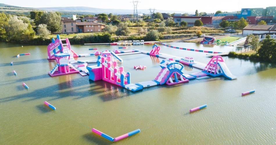 Base de Loisir plan d'eau la Riaille@© Office de tourisme Pays d'Apt Luberon