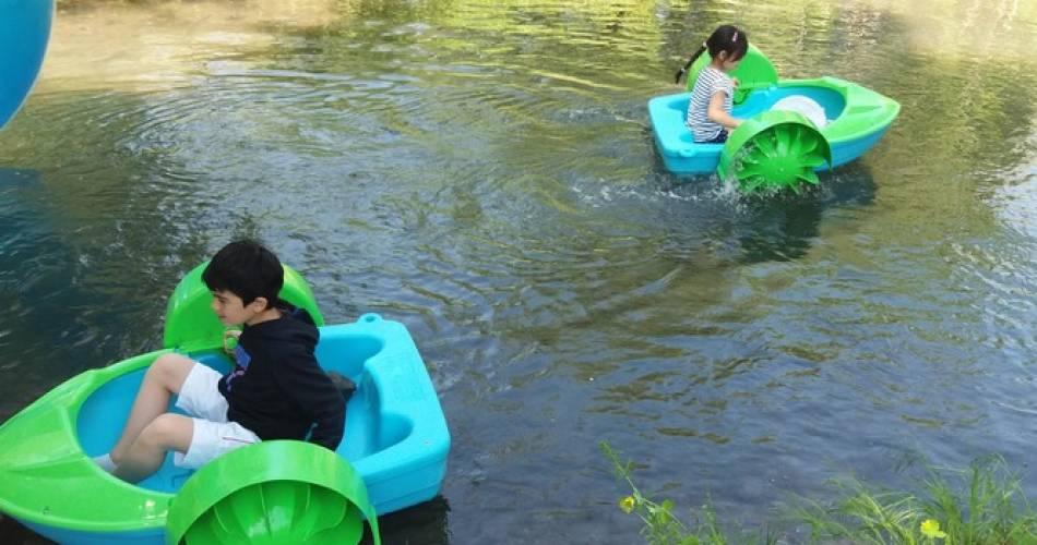 Water ball et pédalos enfants@Patrice Brun