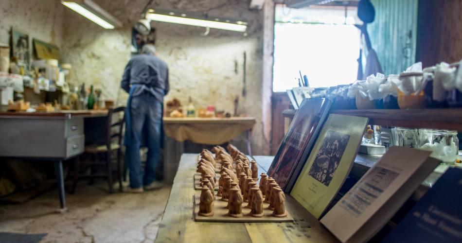 Visite découverte de l'atelier santons