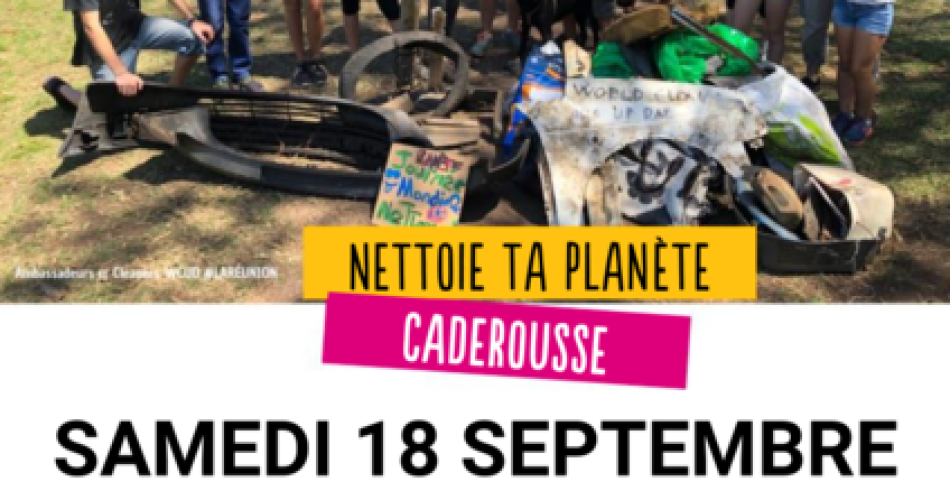 World Clean Up day à Caderousse@Mairie de Caderousse
