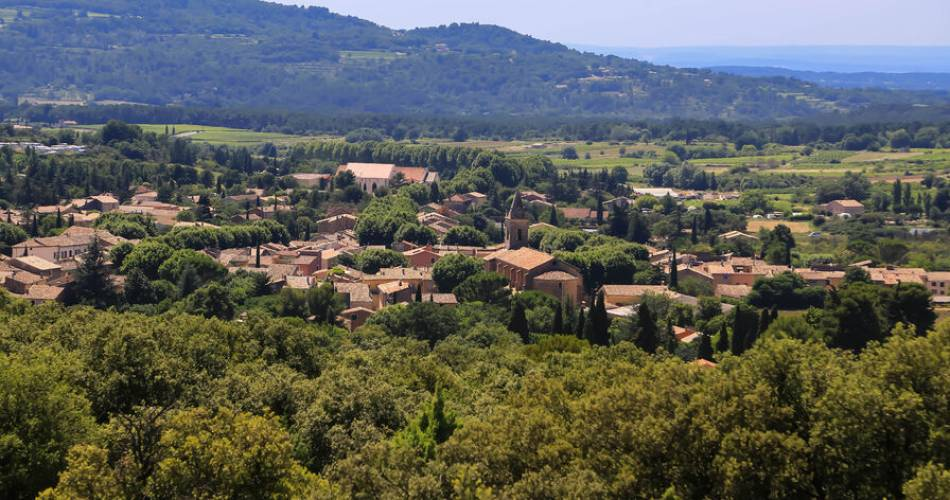 VTT n°13 - Aux portes de la Nesque@Alain HOCQUEL Vaucluse Provence