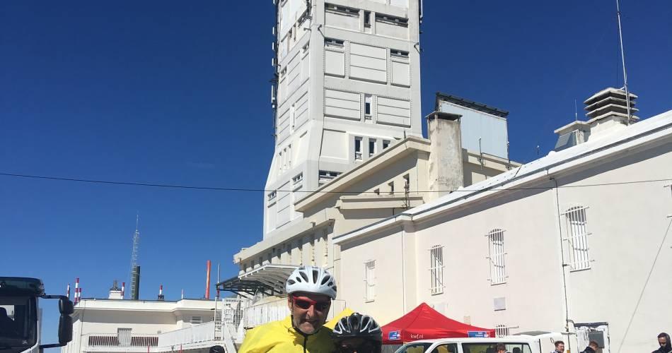 Cyclisme : Ascension du Mont-Ventoux depuis Malaucène@Elodie Pellet