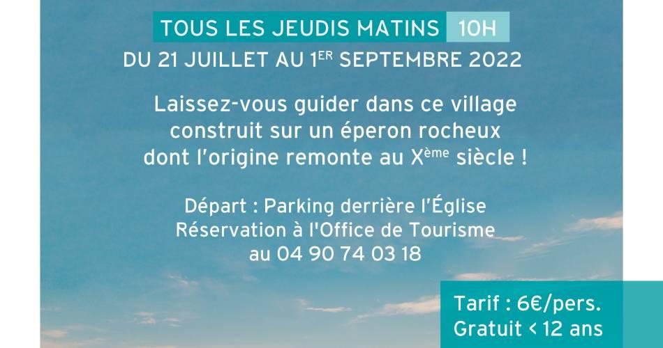 Visites guidées - Saignon, citadelle de pierre@otiapt