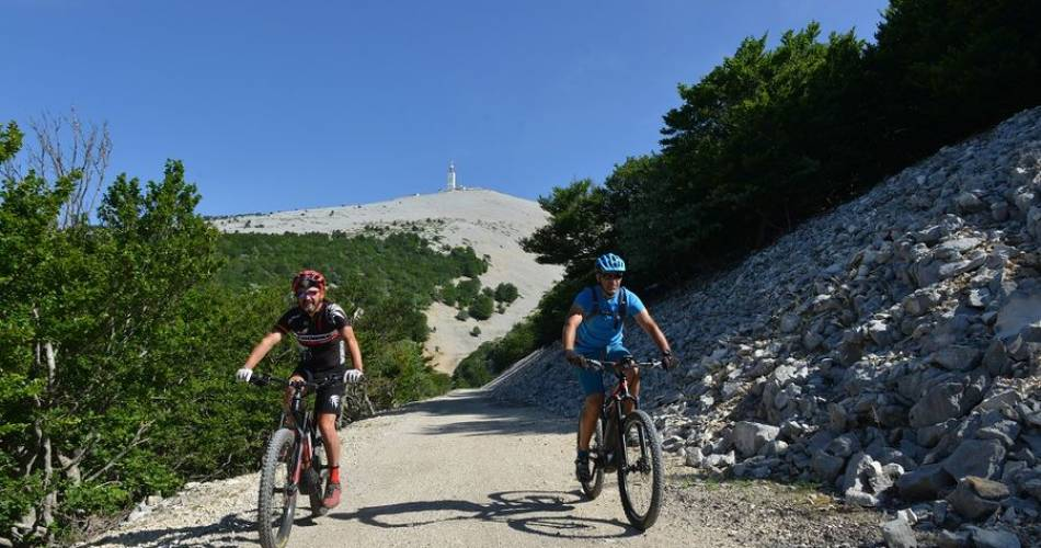 VTT n°5 - Grand Tour du Mont-Ventoux GPS@VPA