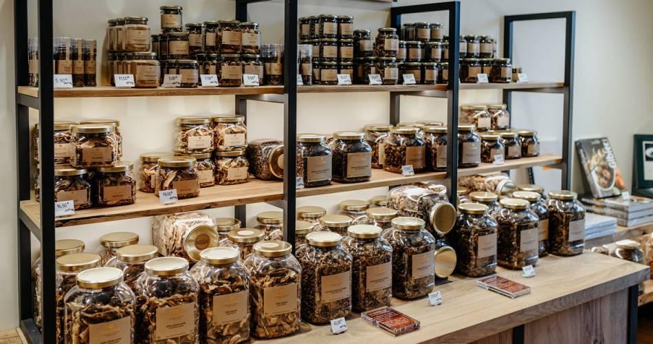 Boutique de la fabrique et Institut de la truffe Plantin@©plantin