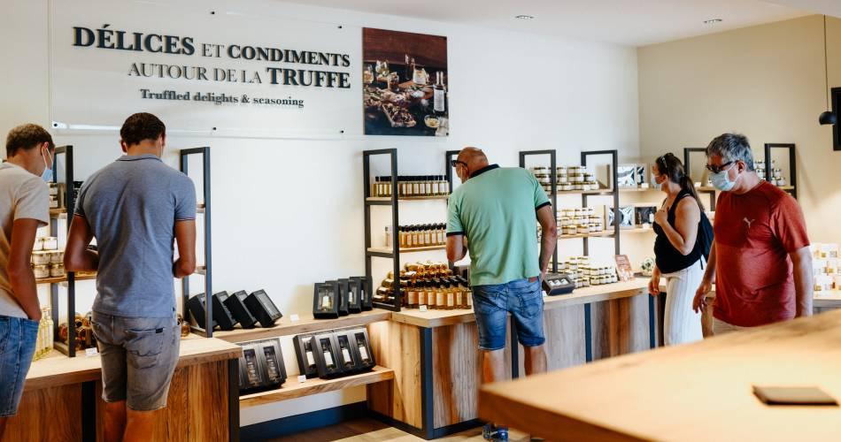 Boutique de la fabrique et Institut de la Truffe PLANTIN@