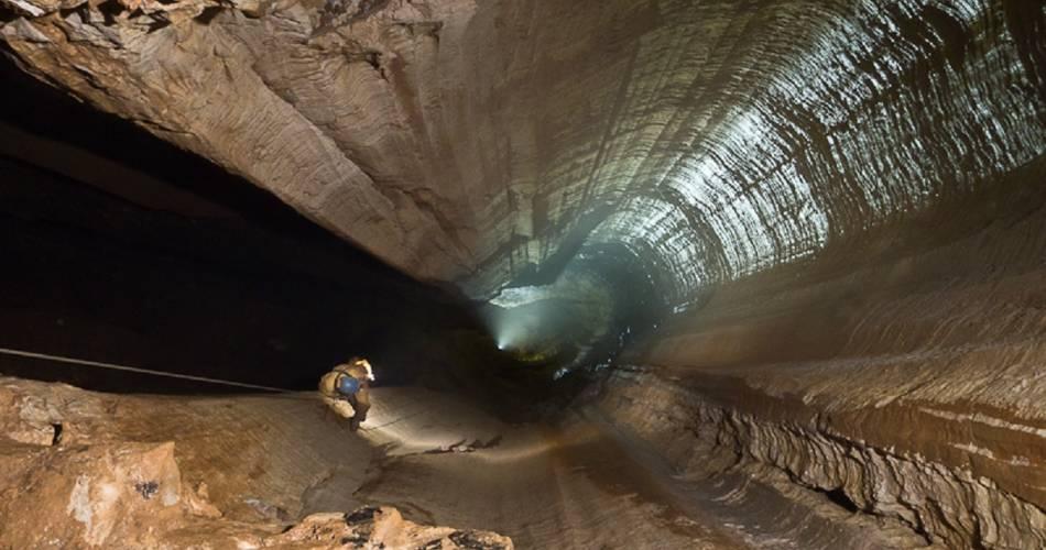 Spéléologie avec Aventure souterraine@A. Gaubert