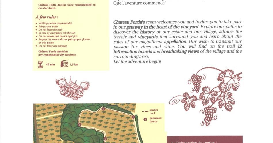 Escapade viticole au Château Fortia@©Château Fortia