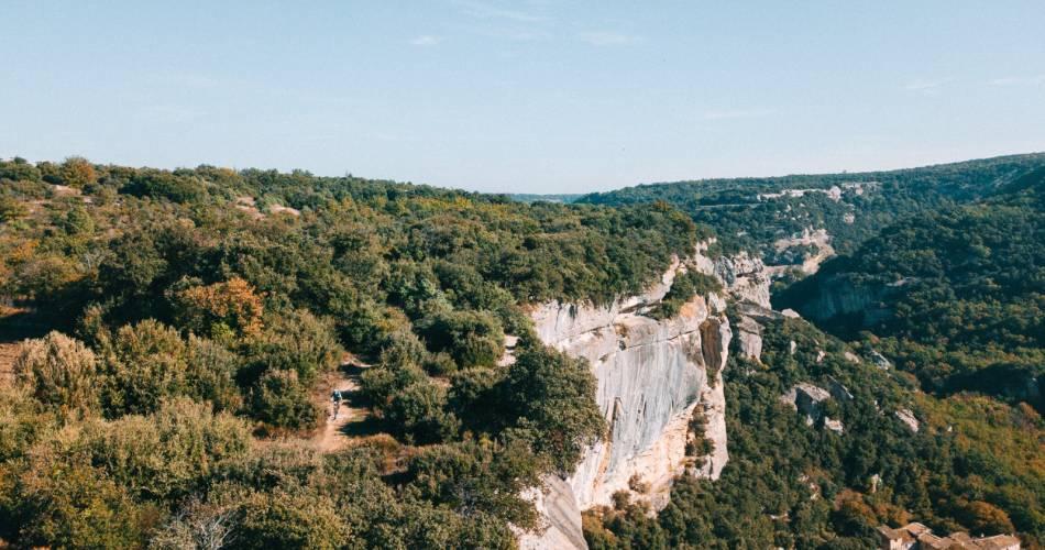 VTT n°59 - Les Balcons de l'Aiguebrun@© Maison du Parc du Luberon