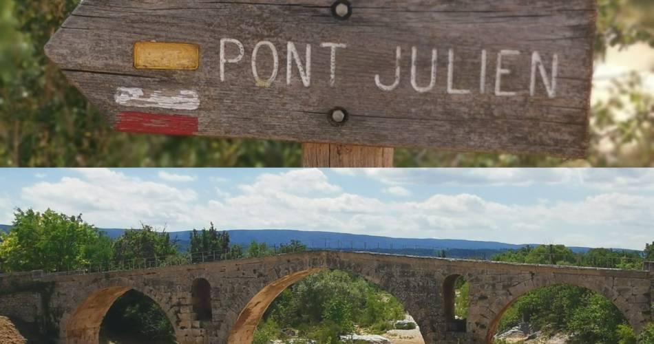 VTT n°62 - Le Pont-Julien@© Maison du Parc du Luberon
