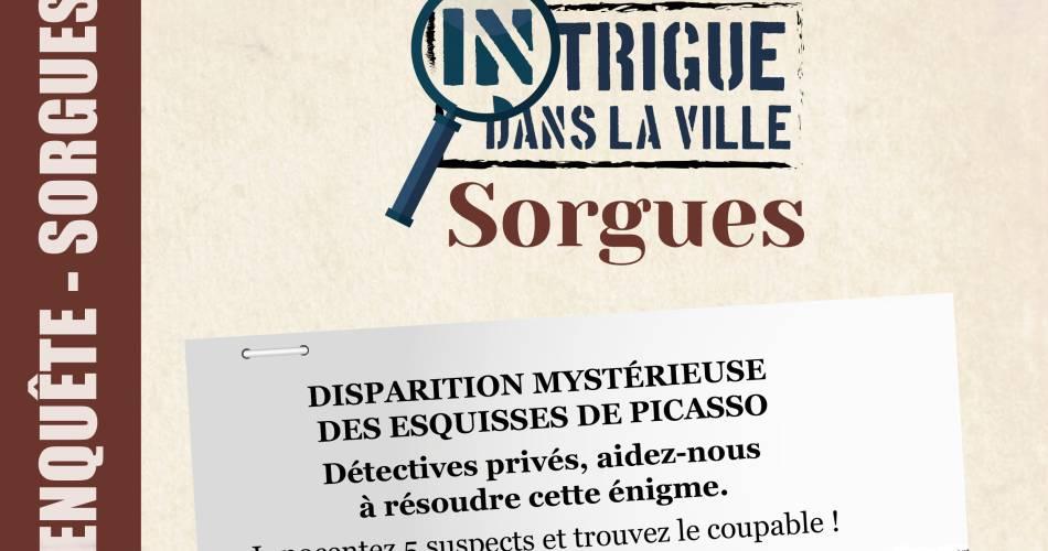 « Intrigue dans la ville® »  - Jeu de piste familial pour découvrir Sorgues en s'amusant !@Devisocom