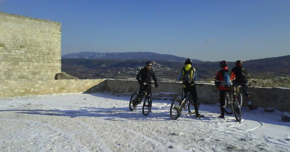 MTB trail no. 48 - From Calavon to the Château de Lacoste@Eric Garnier