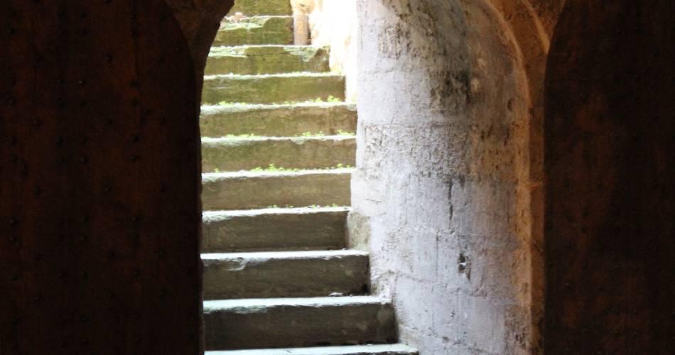 Le Palais des papes : côté obscur@©France Olliver - Avignon Tourisme