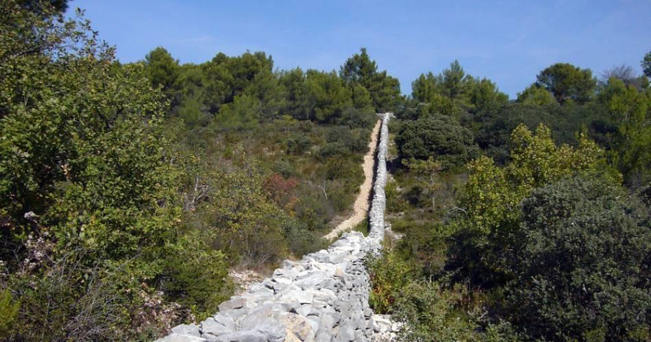 Fontaine de Vaucluse - Le mur de la Peste par Terra Rando@Isle sur la Sorgue Tourisme