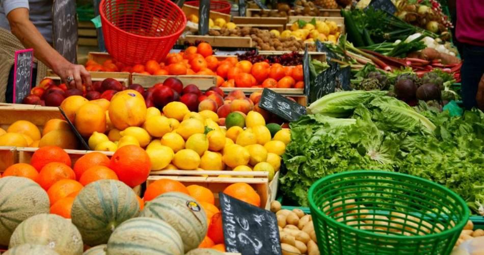 Marché des producteurs de Rochefort-du-Gard@@MairieRDG