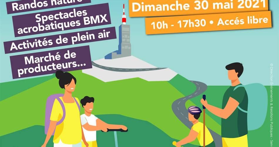 Journée Familiale au Mont Serein@Département Vaucluse