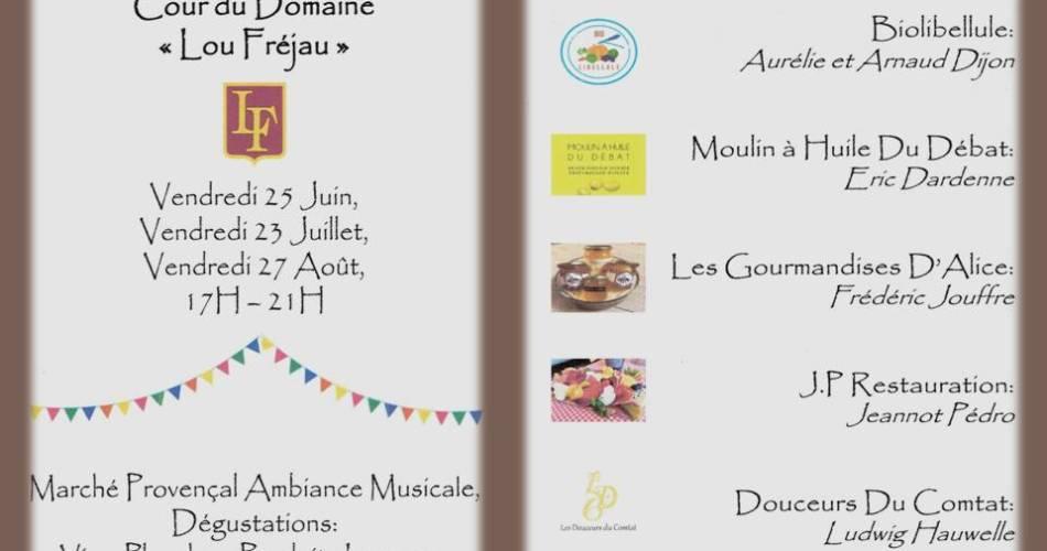 Marché Gourmand@Lou Fréjau