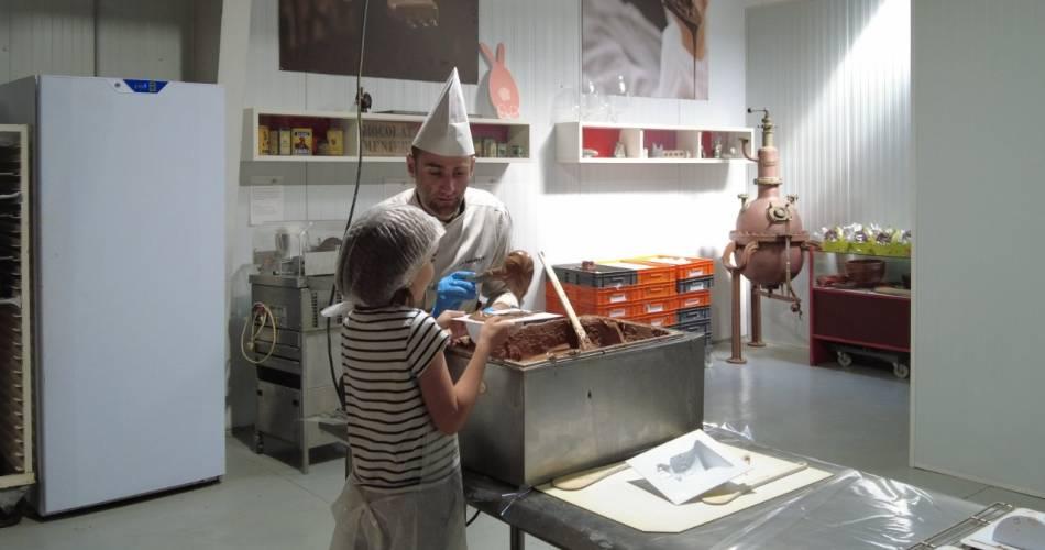 Ateliers Moulage de chocolat Castelain pour les Enfants@©Castelain