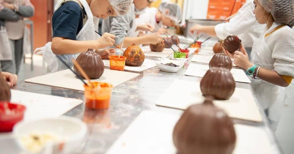 Ateliers Moulage de chocolat Castelain pour les Enfants@Castelain