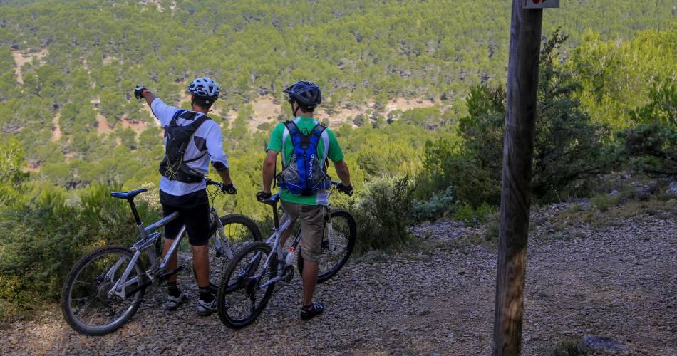 Electric Mountain bike route no.5: Grand tour of Mont Ventoux GPS@VPA