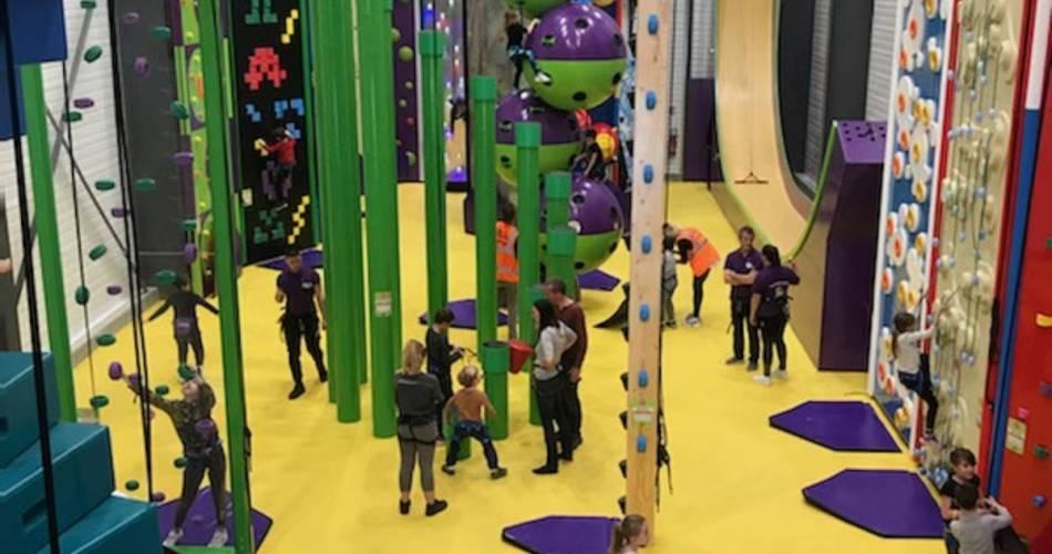 Clip'n Climb escalade réinventée@Clip'n'Climb