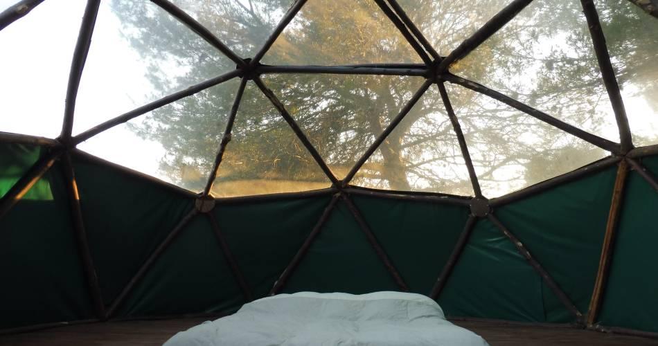 Dôme géodésique à la Ferme Roumavagi@Netta Müller