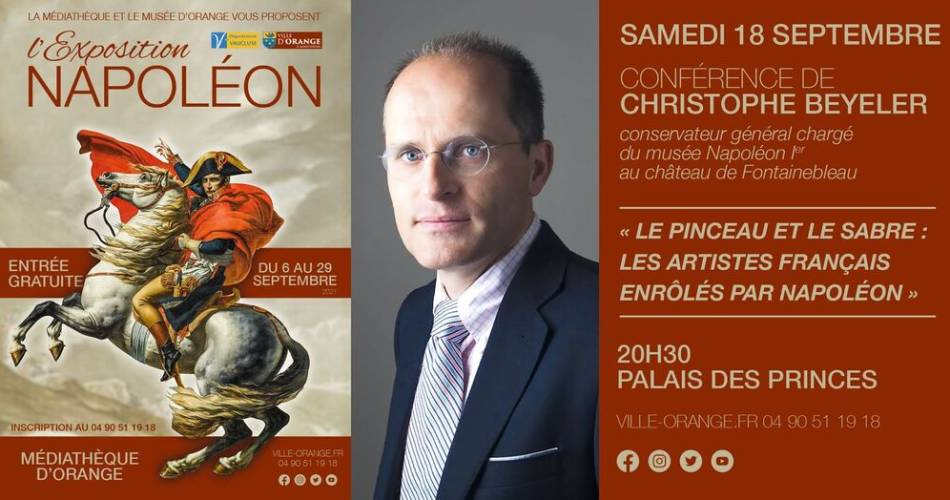 L'exposition Napoléon@Mairie d'Orange