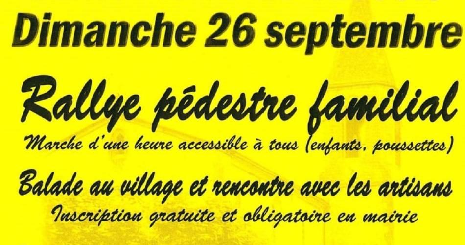Rallye Pédestre familial et repas@Mairie