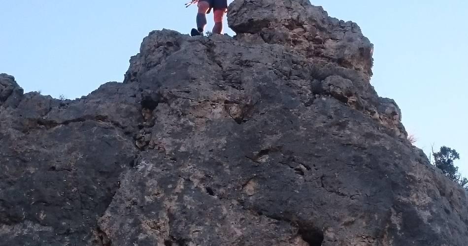 Ontdekking van onze bergpaden met aventoux'rando@Cedric Demangeon