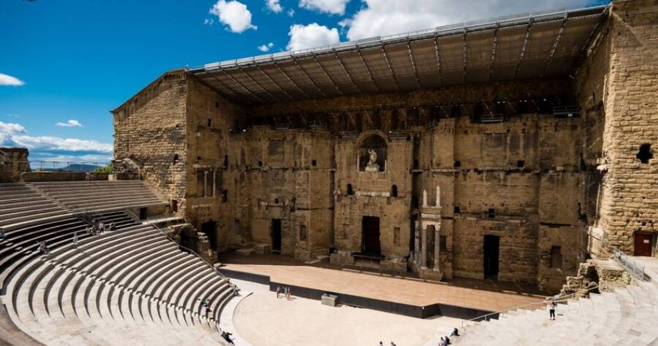 Roman Theatre in Orange@Christelle Champ
