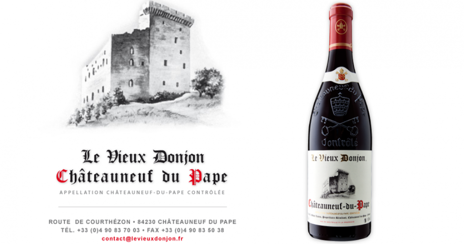 Domaine le Vieux Donjon@©Domaine le Vieux Donjon