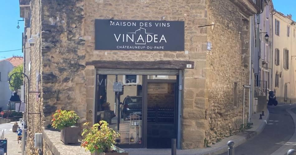 Vinadéa - Maison des Vins de Châteauneuf du Pape@VINADEA