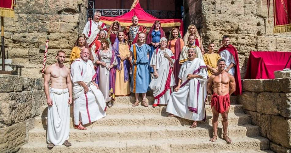 The Roman Festival@Gromelle / Culturespaces