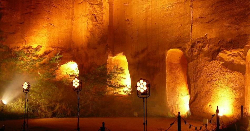 Mines de Bruoux@OTI Provence en Luberon