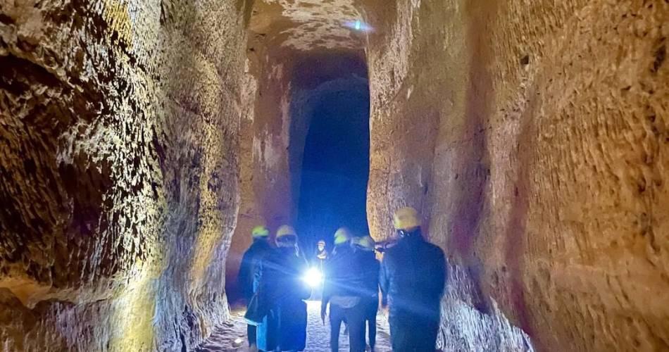 Ochre mines of Bruoux@HOCQUEL Alain - Vaucluse Provence