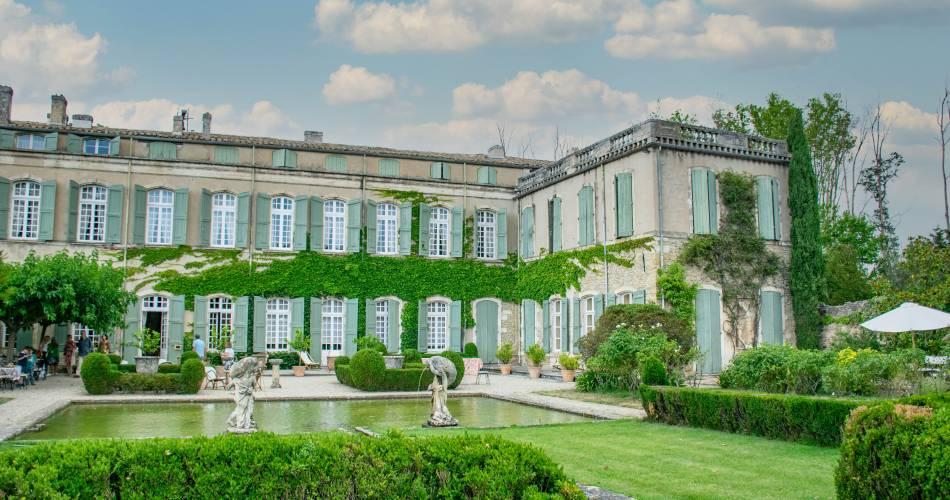 Château de Brantes Garden and Grounds@©brantes