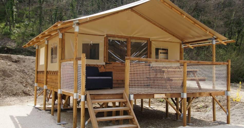 Camping Le Vallon@V. Leclercq